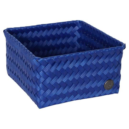 Handed by - FIT - square 18 high cobalt blue