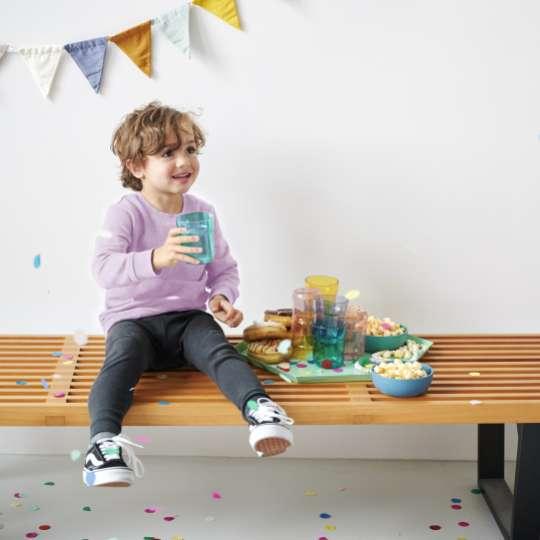 MEPAL Kindergeschirr MIO  Mood - Party mit Kind auf der Bank