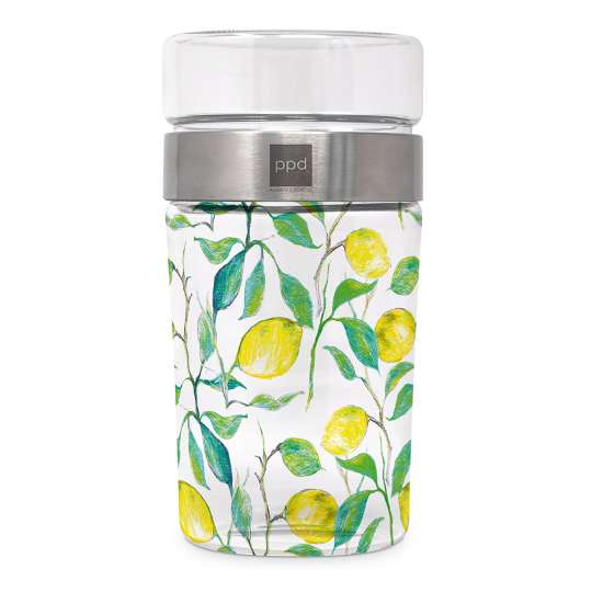 Paperproducts Design Snack2GoGlass Beautiful Lemons – 604051