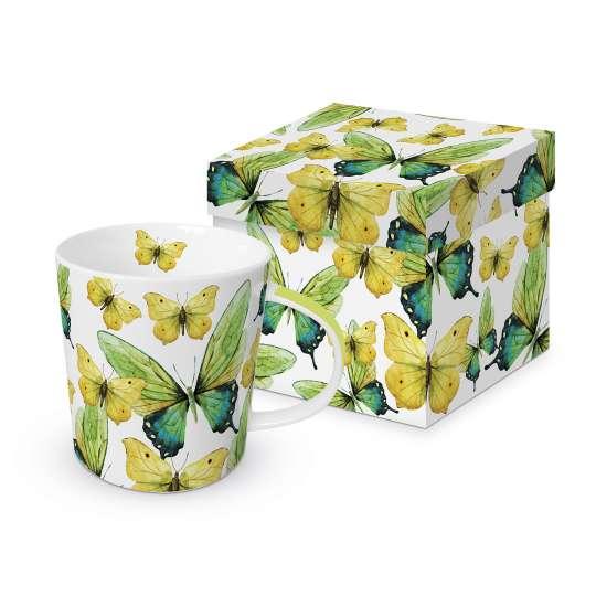 Paperproducts Design Trend Mug Green Butterflies – 603566