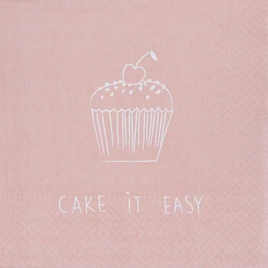 räder - Serviette Cake it easy, 33 x 33 cm