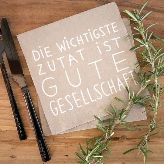 räder - Serviette Gute Gesellschaft - Rosmarin