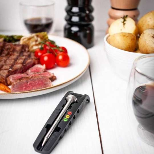 SteakChamp 10-2025 Steak-Thermometer Stimmungsbild