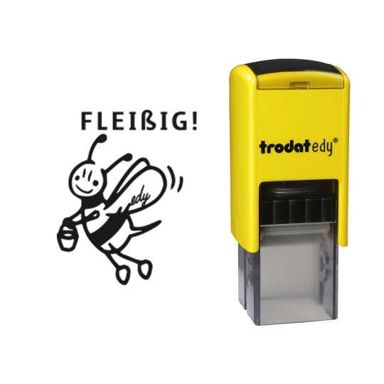 trodat - edy® - Biene - Stempel mit Abdruck