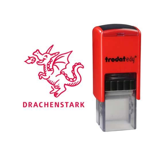trodat - edy® - Drache - frei mit Abdruck