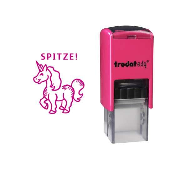 trodat - edy® - Einhorn - frei mit Abdruck