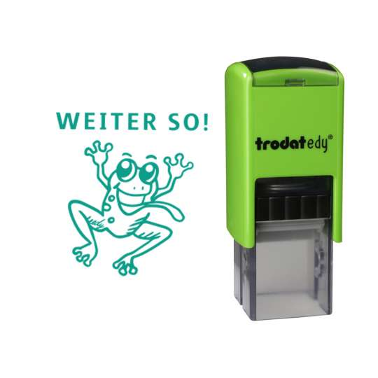 trodat - edy®  - Frosch - frei mit Abdruck