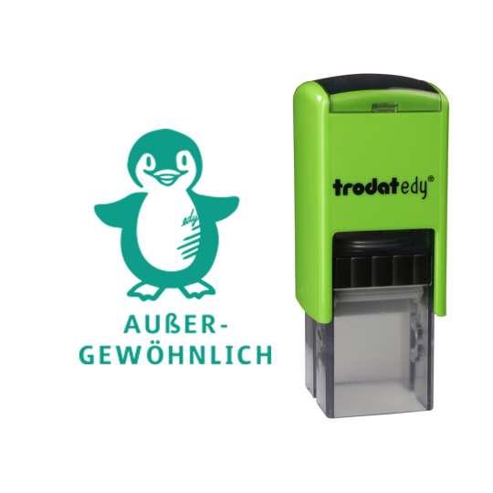 trodat - edy® - Pinguin - frei mit Abdruck