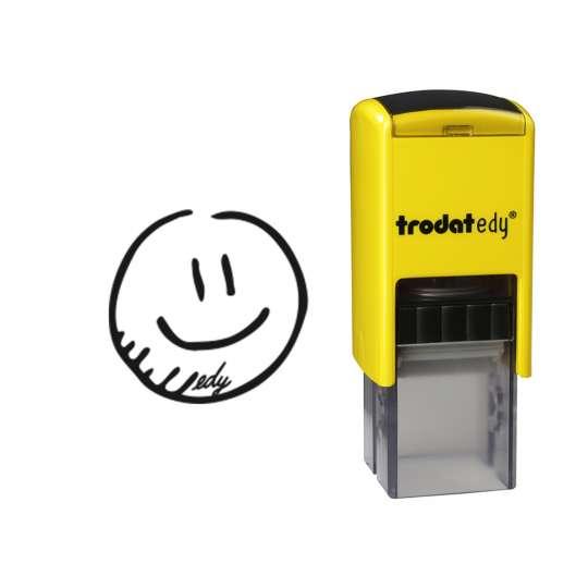 trodat - edy® - Smiley - frei mit Abdruck