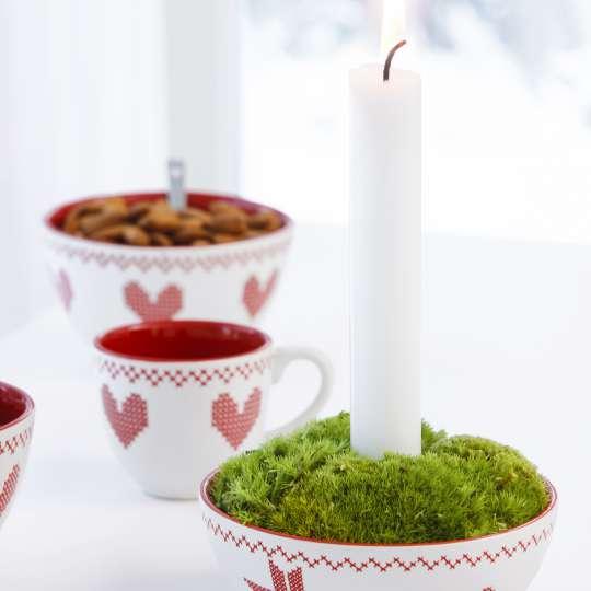 """Für die schönste Zeit des Jahres: """"X-MAS"""" Kerzenhalter und Kuchenplatte"""