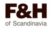 F&H of Scandinavia Logo