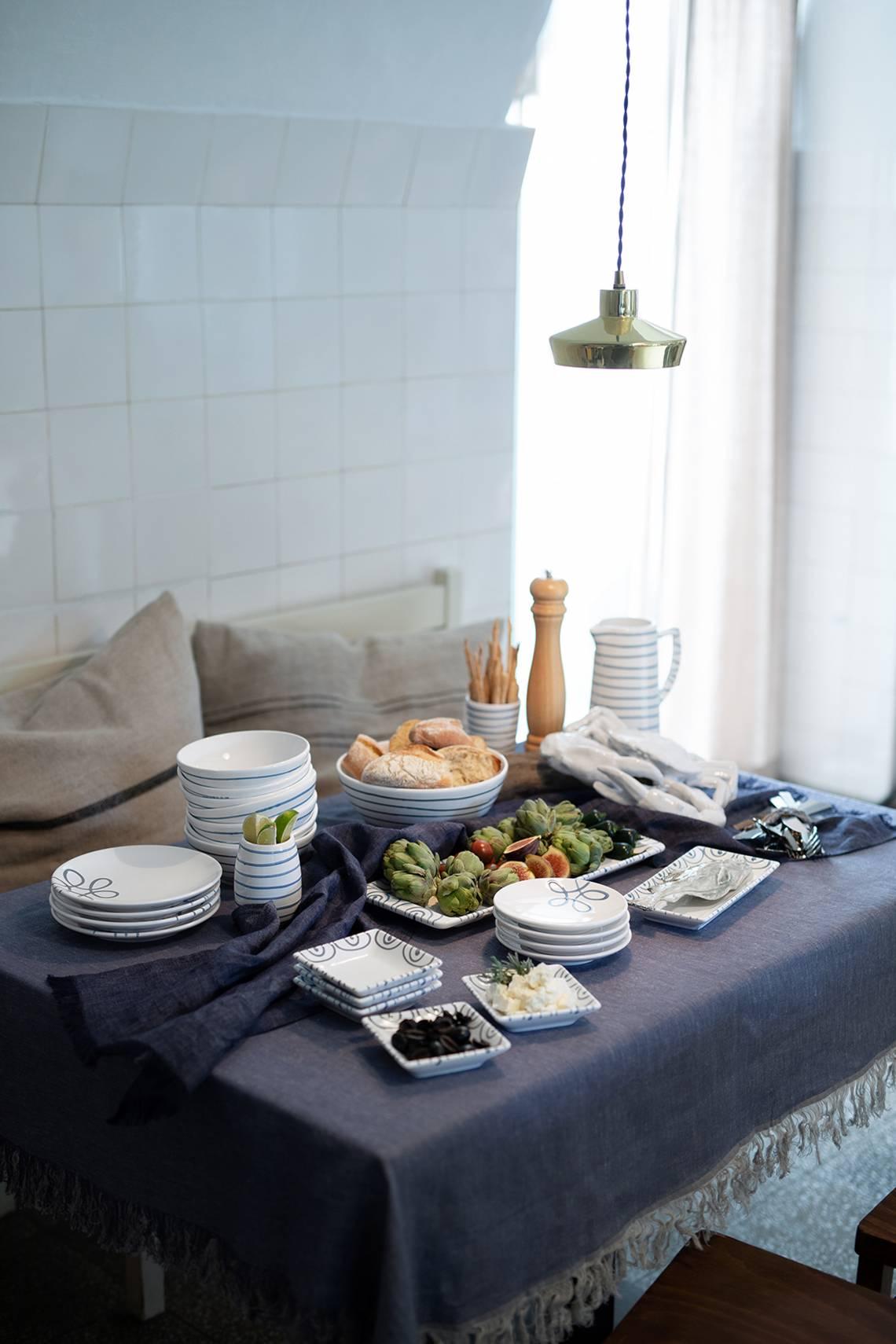 Ahoi aus dem Salzkammergut - Die Farben des Meeres / Mood Tisch Detail