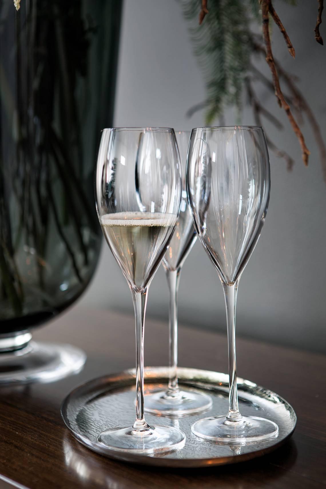 Fink Living Drei Champagnergläser
