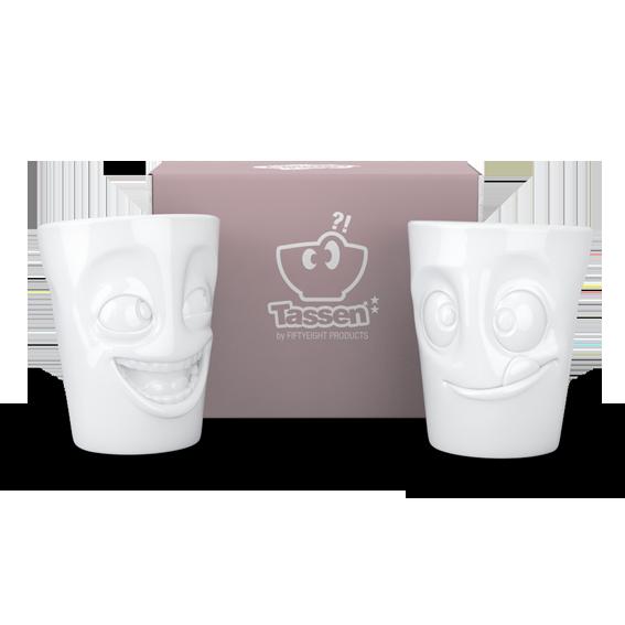 58Products Henkelbecher - Mugs mit Verpackung - witzig und lecker