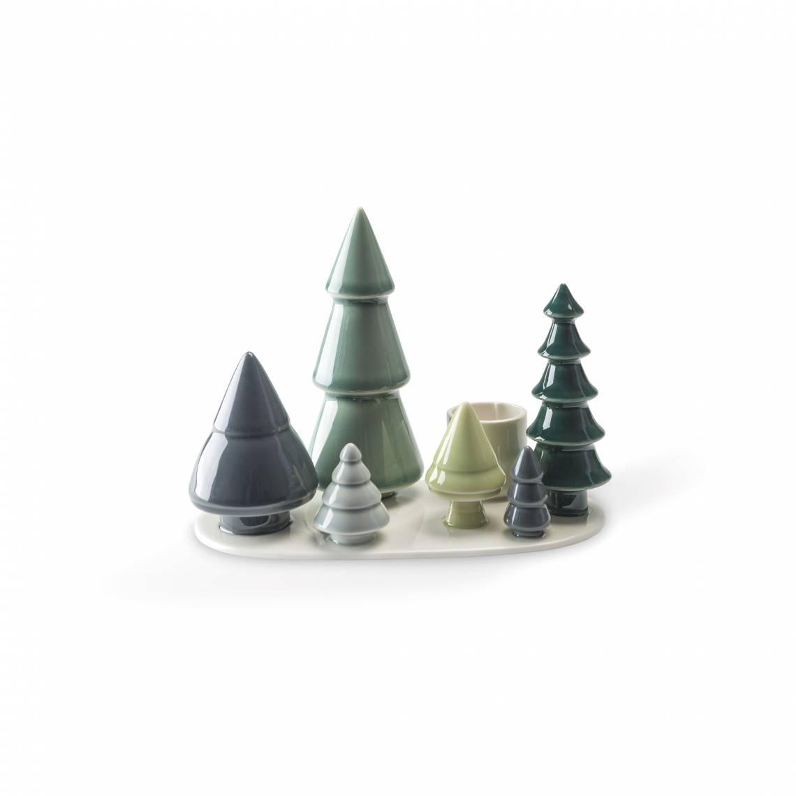 91170 - Forest  - Kerzenhalter Wintergeschichten Wald