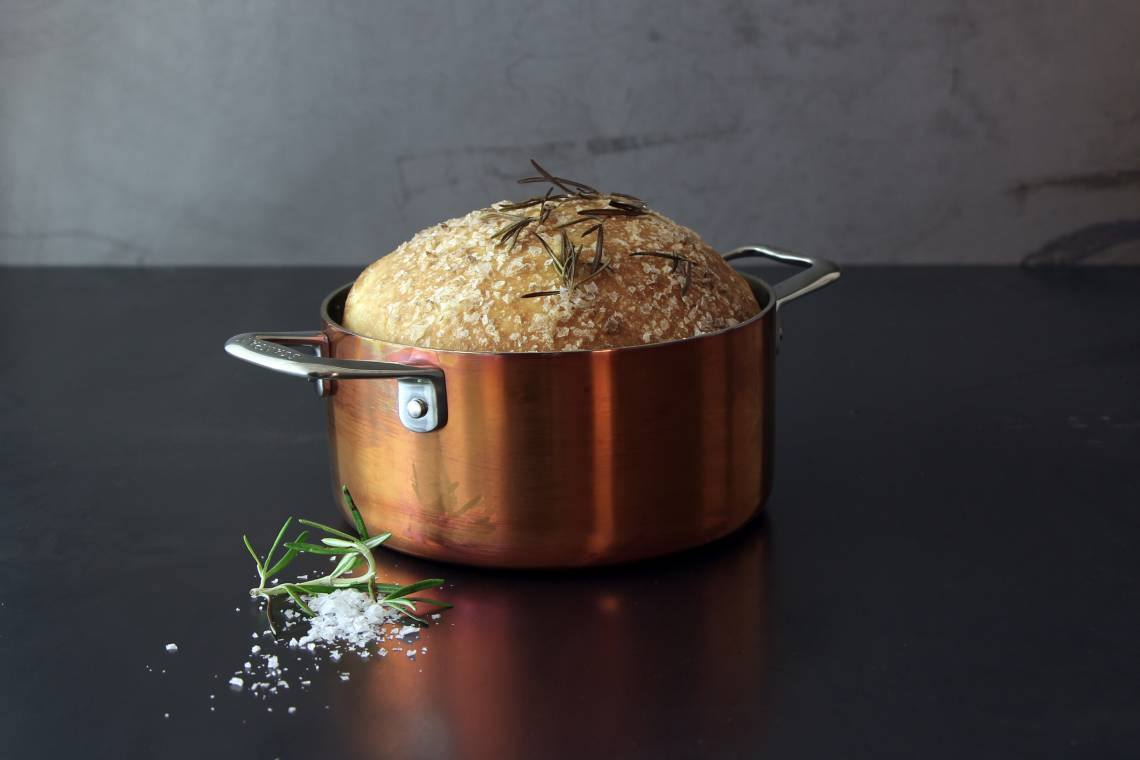 Scanpan - Maitre D' Serie aus Kupfer / Mood Topf mit Brot