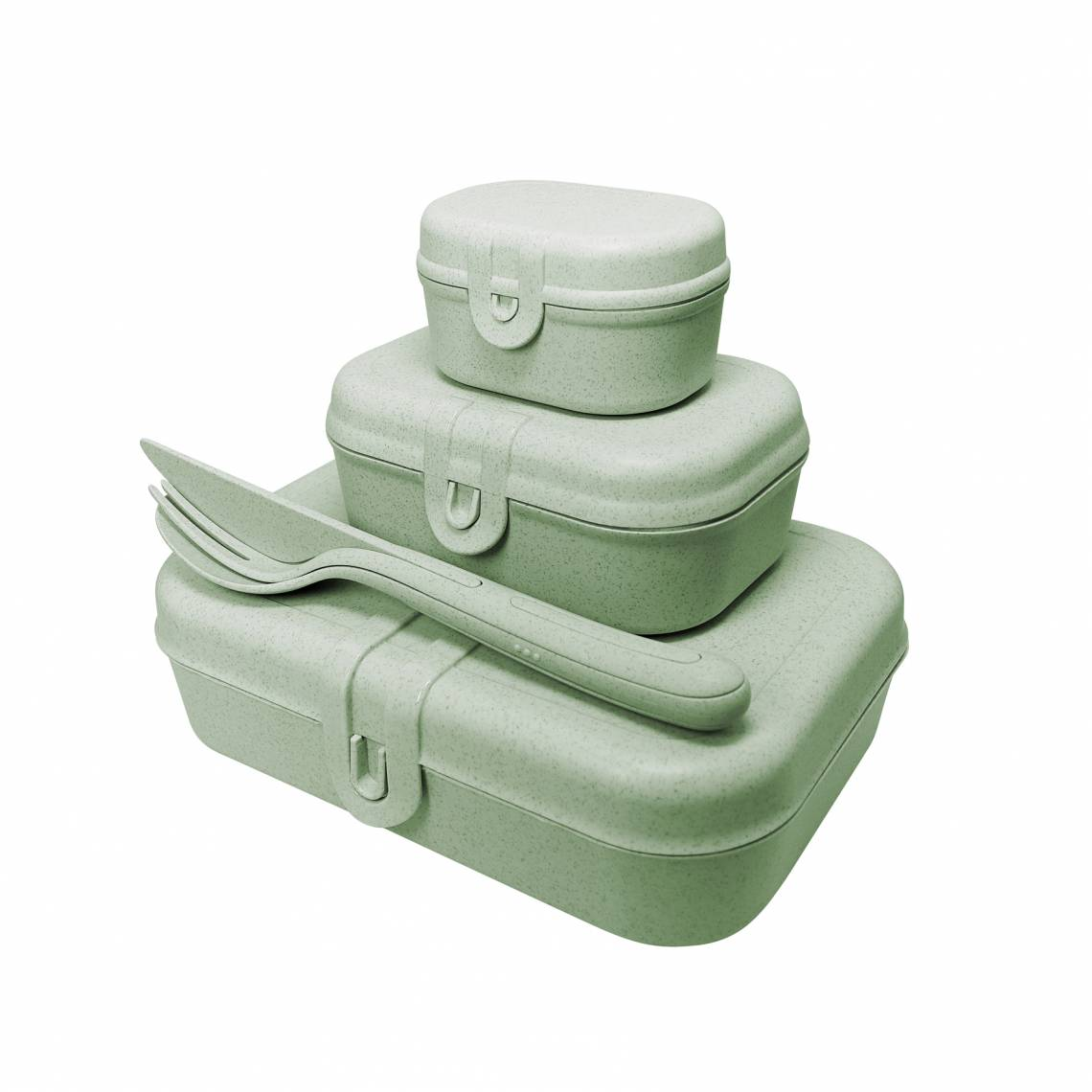 Koziol PASCAL READY  3168668 Lunchboxen + Besteckset