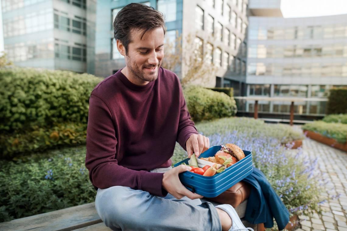 Mepal - To-Go-Range - TAB Lunchbox mit Bento-Einsatz, large mood