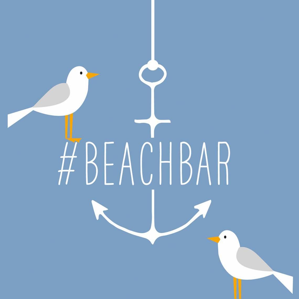 Beach Bar Napkin
