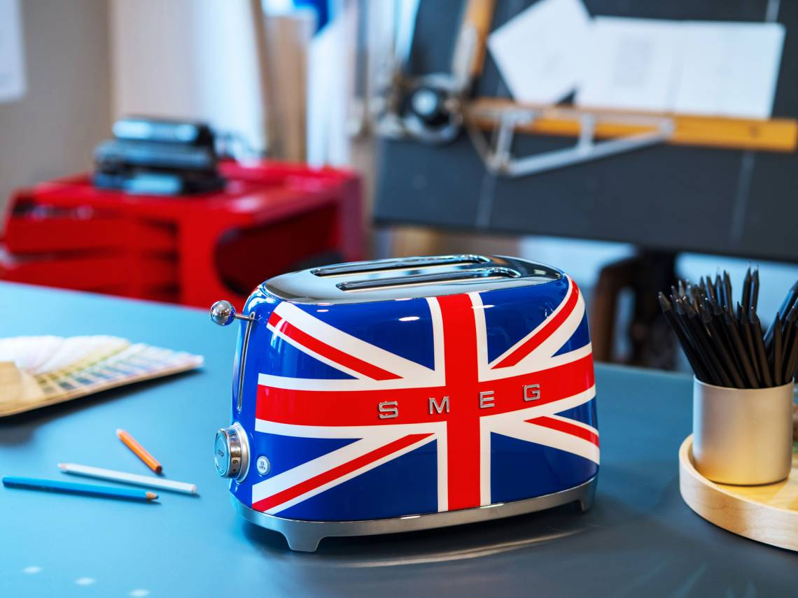 SMEG Toaster Union-Jack Design