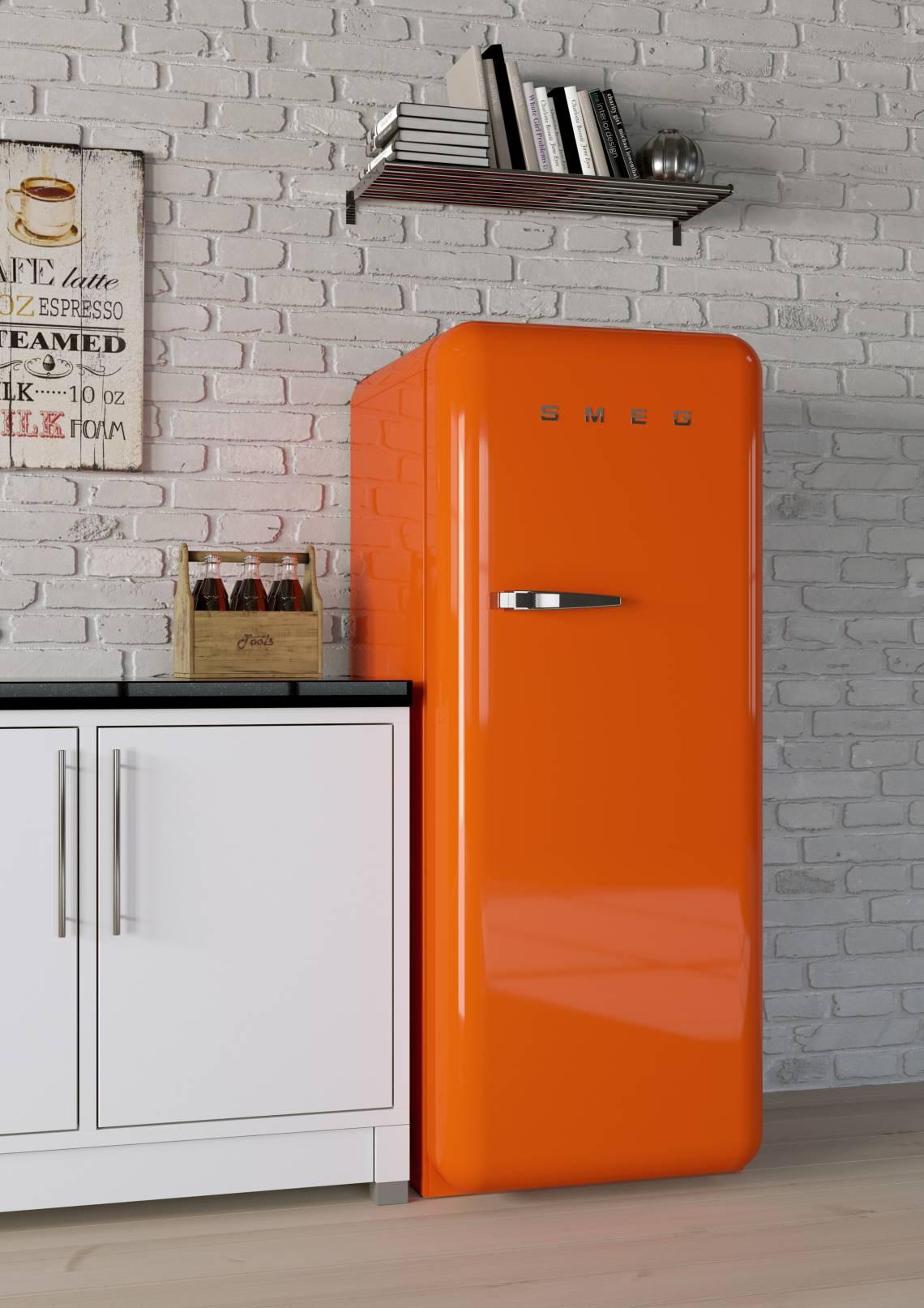 Smeg Kuhlschrank Orange Mood Trendxpress