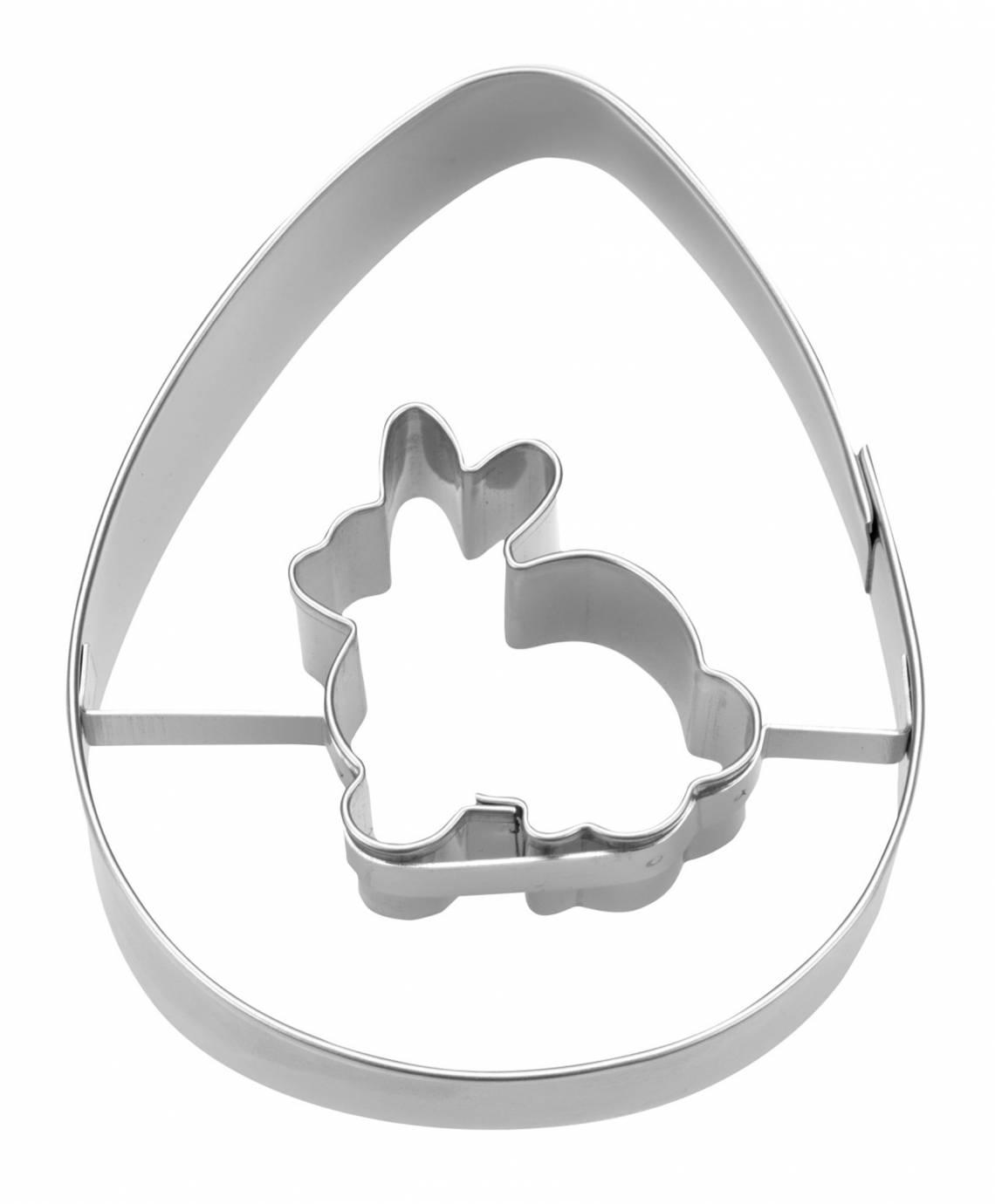 Staedter Ausstecher Ei mit Hase Art. Nr.217201
