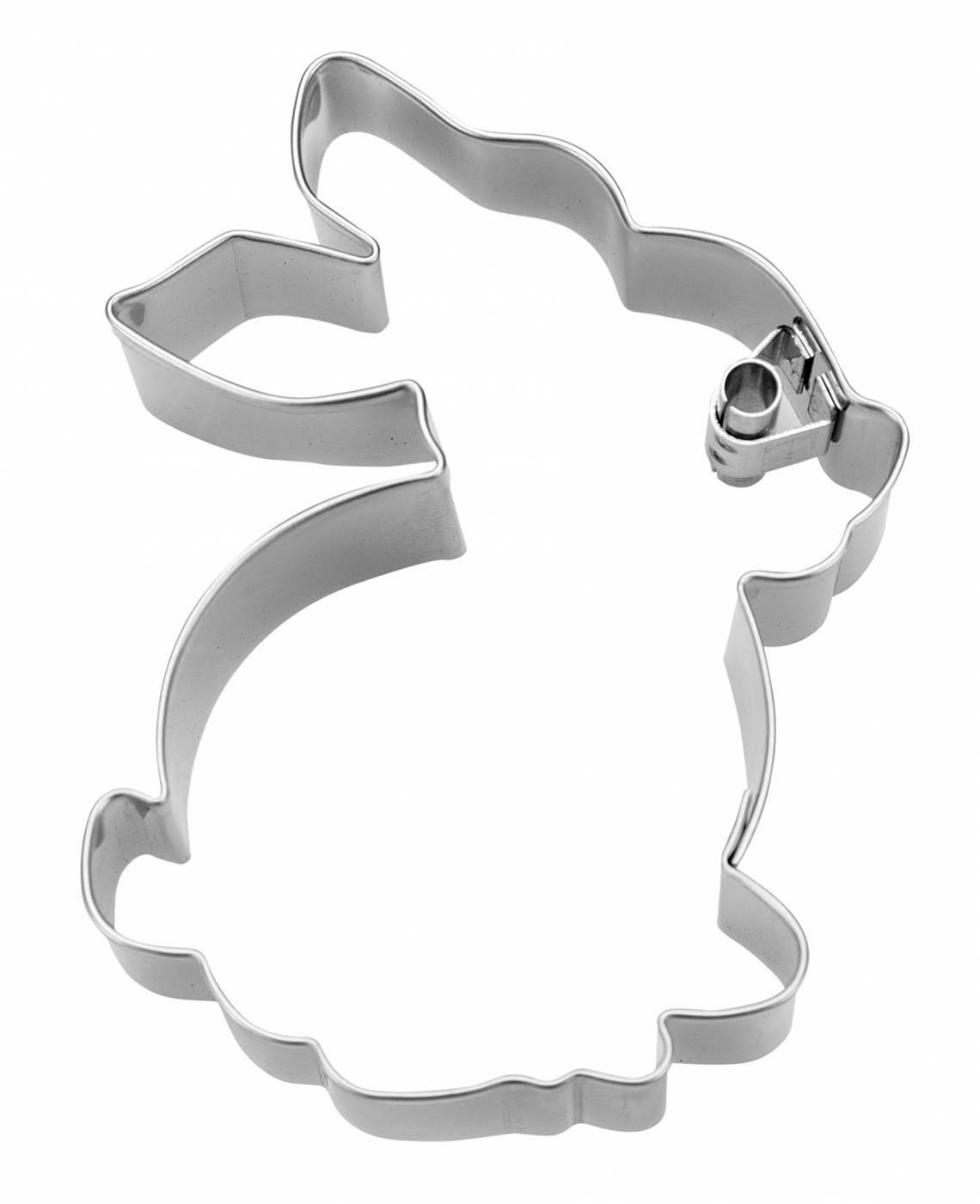 Staedter Präge-Ausstecher Hase, sitzend Art. Nr.217188