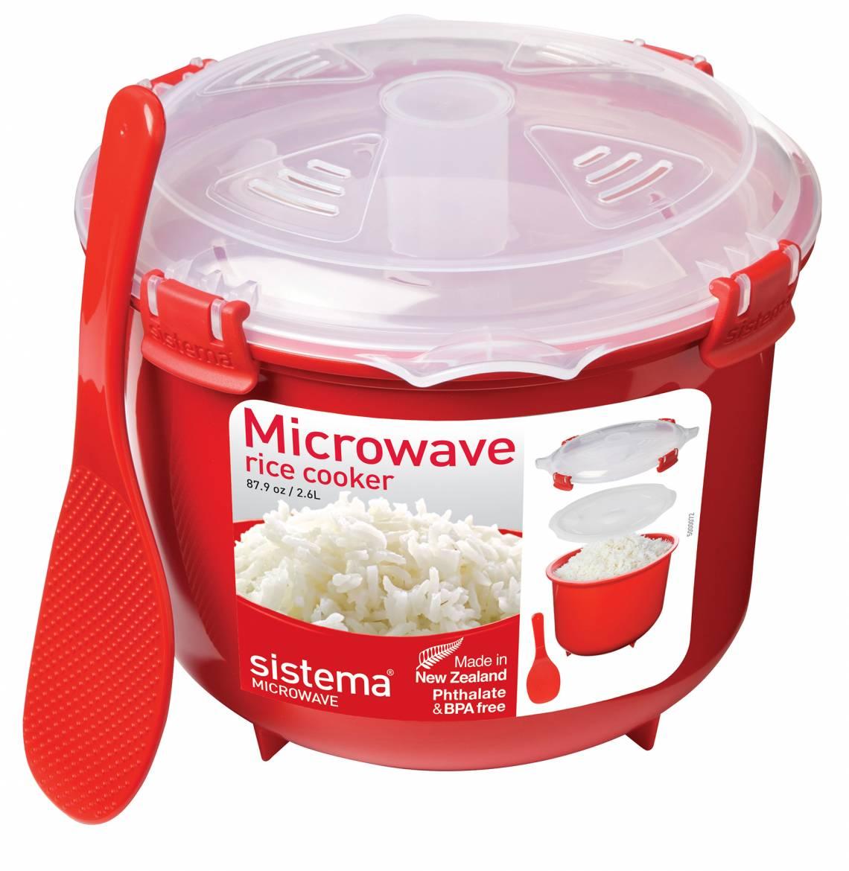 sistema - Serie Microwave - Zubereiten in der Mikrowelle - Reiskocher
