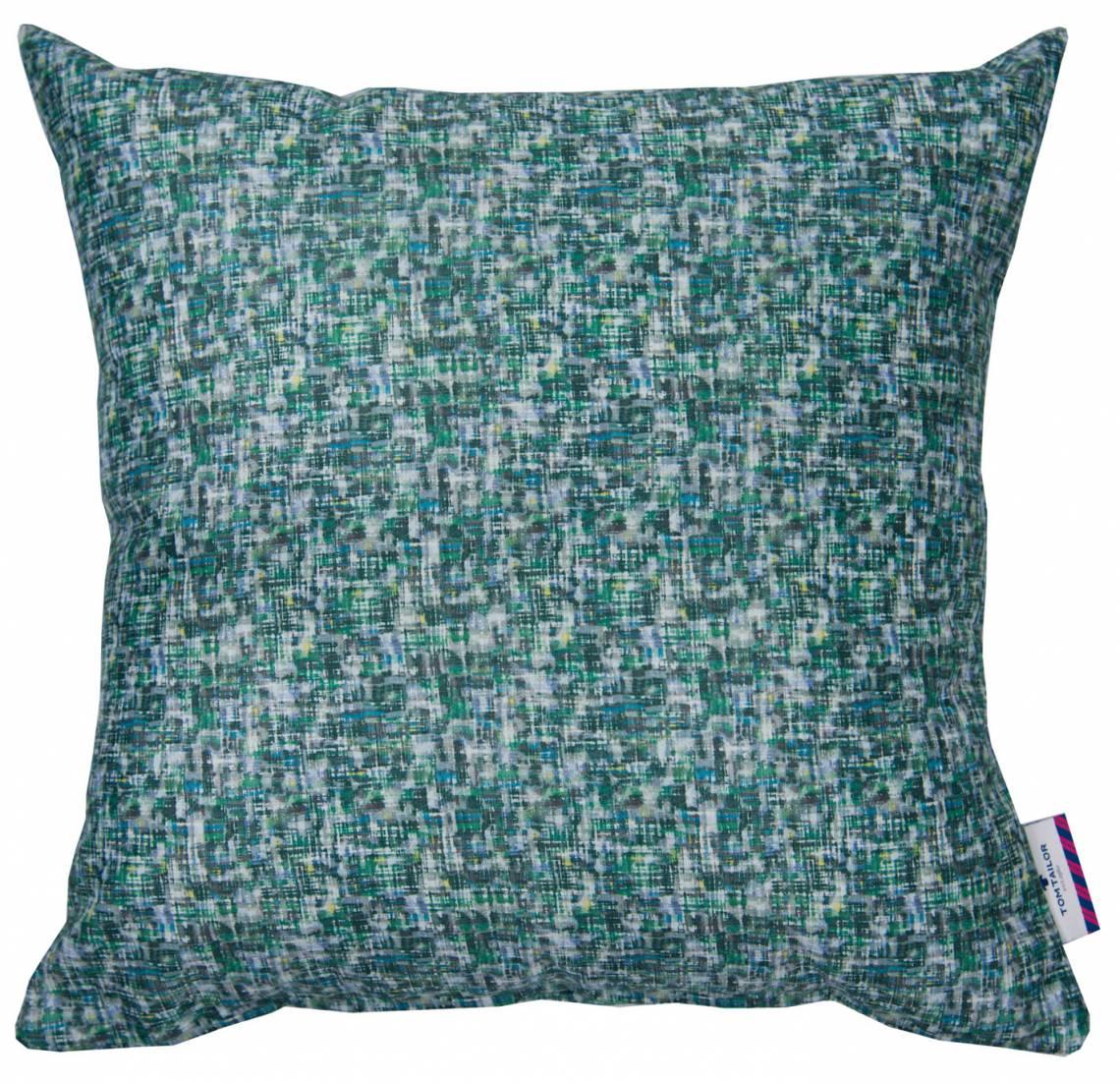 Tom Tailor Home Motley Green Kissenhülle blau/grün