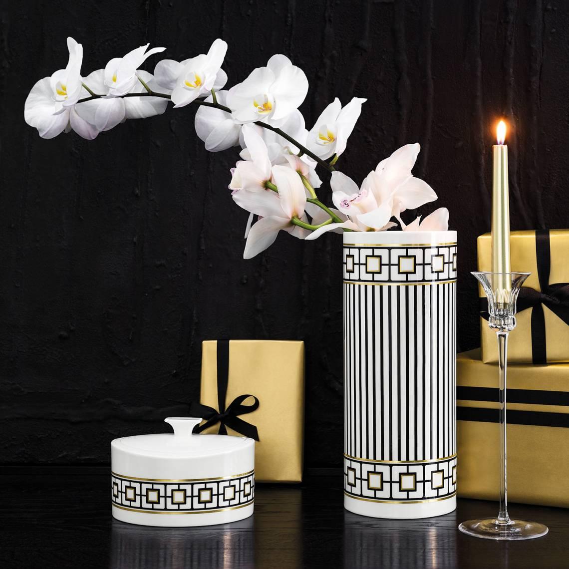 MetroChic Vase weiss