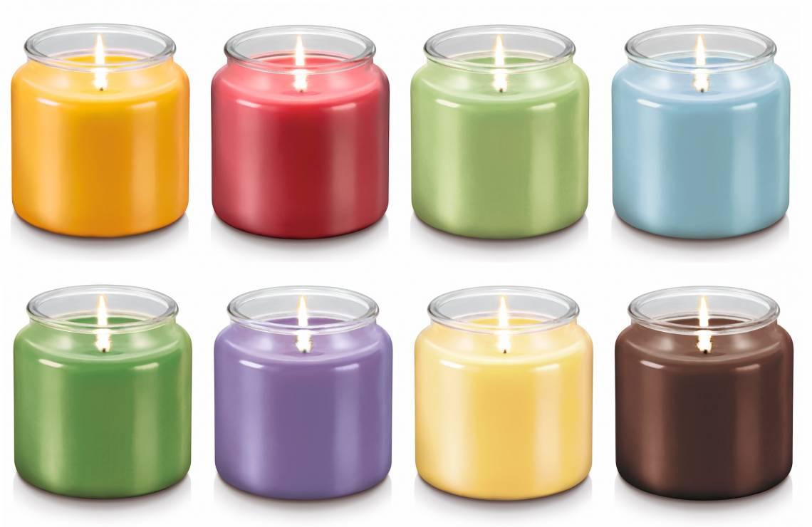 Duftkerze 'Fancy Home' gross. Alle acht Farben & Duftvarianten
