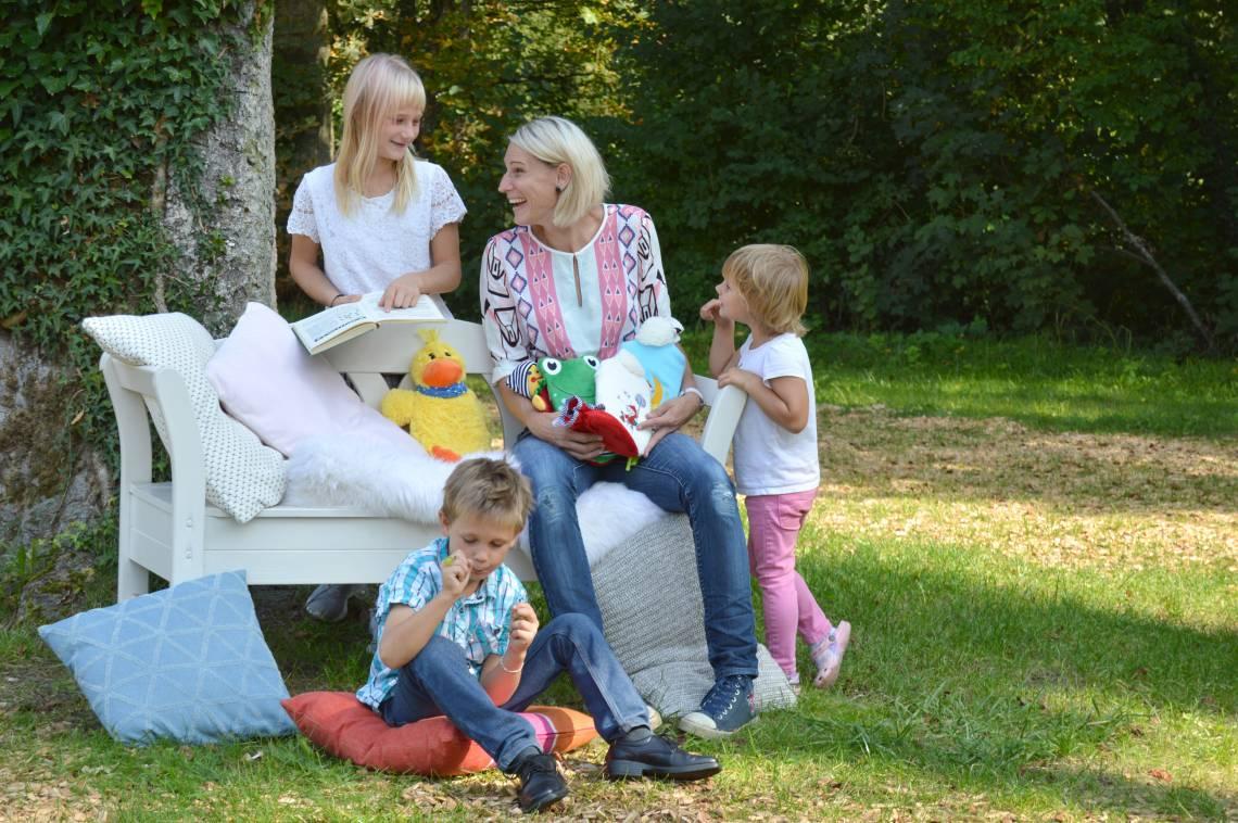 Hugo Frosch 3158 + 3159 Kinder-Öko Wärmflasche Soft-Fleecebezug im Sandmännchen-Design
