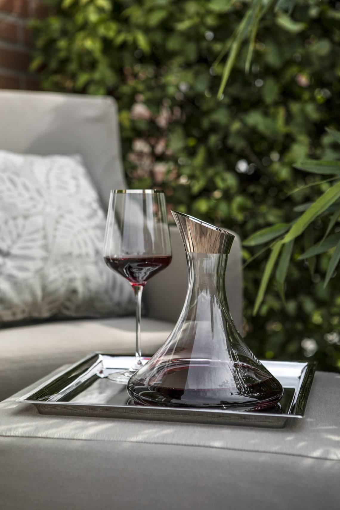 Fink Living Rosso Karaffe und Rotweinglas