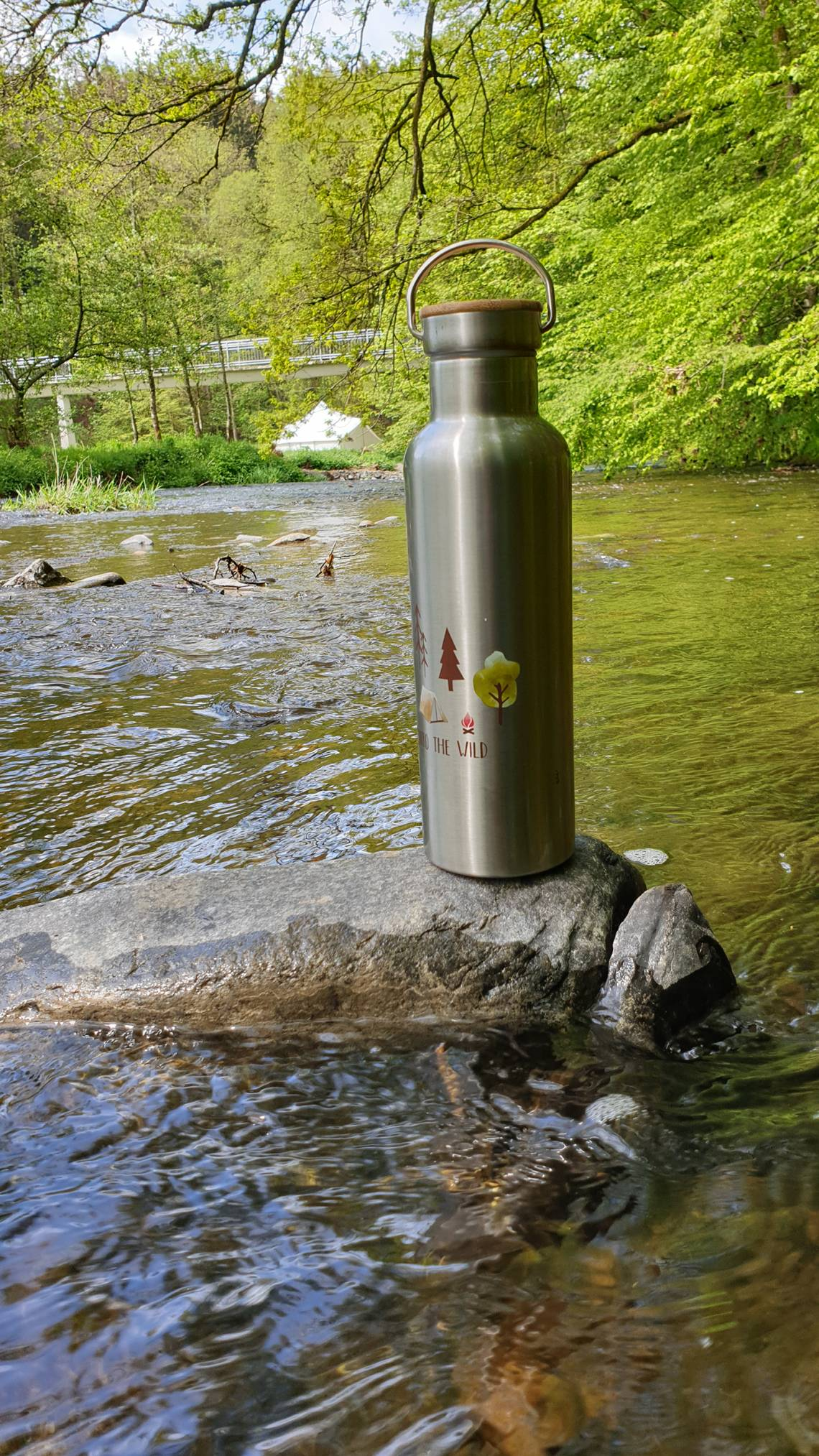 ppd Stainless Steel Bottles - Stimmungsbild Fluss