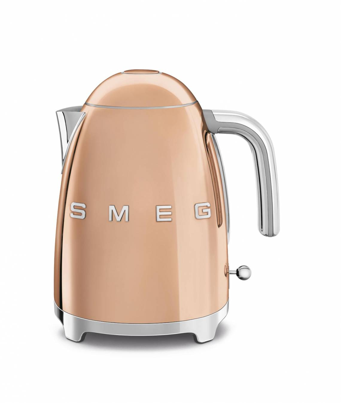 smeg: Luxuriöse Sondereditionen - Wasserkocher Rosegold, KLF03RGEU
