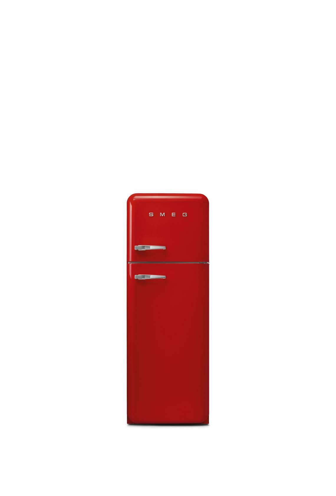 Smeg: Retro-Kühlschrank mit Gefrierteil FAB 30, rot