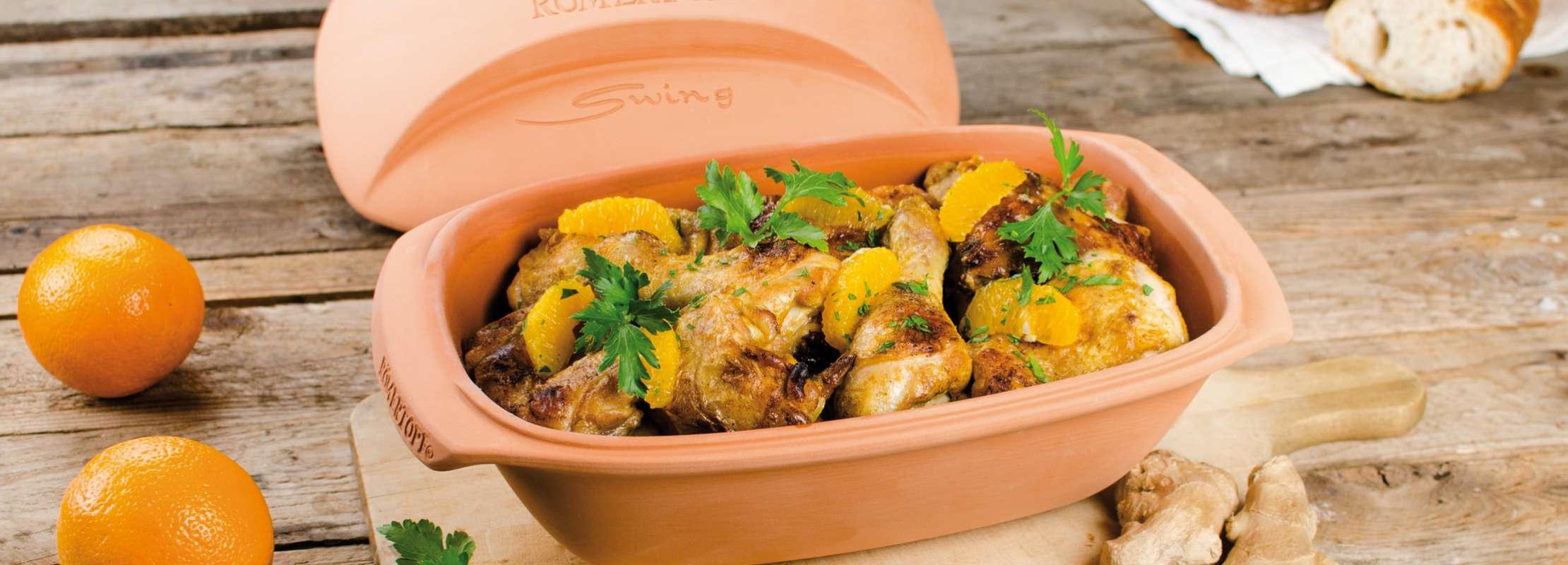 Curry Huhn Im Römertopf Trendxpress