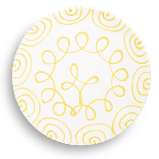 Gmundner Keramik: 'Sommer, Sonne, Sonnenschein', Speiseteller Cup, 0101TFCU28