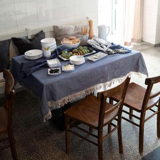 Ahoi aus dem Salzkammergut - Die Farben des Meeres / Mood Tisch Hochformat