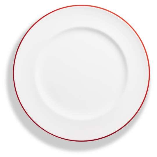 """Design """"Rubinroter Rand"""" - Speiseteller Gourmet"""