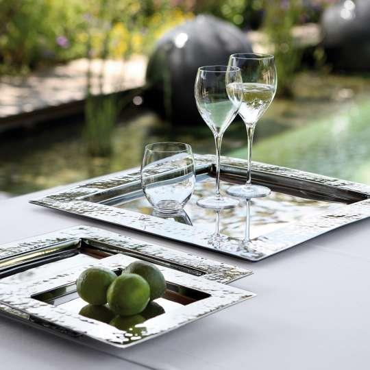Fink Living Weingläser auf Tablett