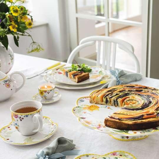 Villeroy und Boch Spring Awakening Brunch mit Kaffee