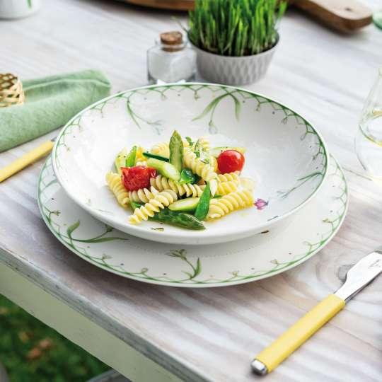 Villeroy und Boch -colourful spring; Porzellangeschirr mit Pasta