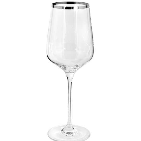 Fink Living PLATINUM Weinglas H.25cm