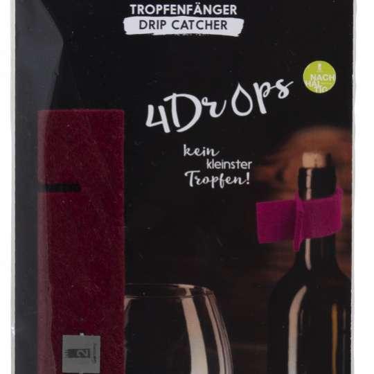 4Drops Tropfenfänger rot Verpackung