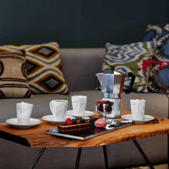 58 Products Espresso Mugs Vergnuegt-Lecker-Verdutzt