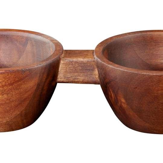 ASA Wood 2er Snack-Schale
