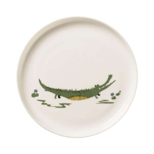 ASA Selection -38951314_kindergeschirr-croco-krokodil-teller-tabletop