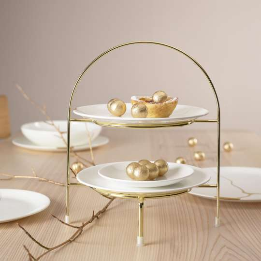 ASA Herbst-Winter-XMAS Etagère à Table d'Or