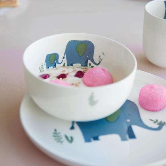 ASA Selection-Kindergeschirr-kids-schale-teller-emma-elefant